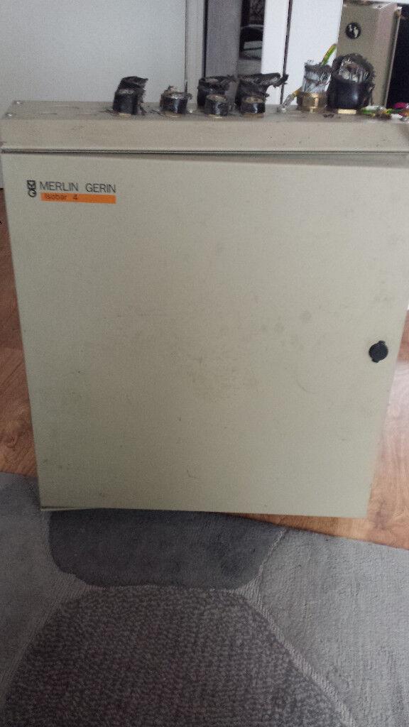 Merlin Gerin Isobar 4 Evo Metal Distribution Board