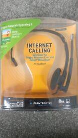 PC Internet calling or Gaming head set