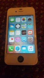 APPLE IPHONE 4S MINT AND 8GB AND OPEN TO ALL NETWORK