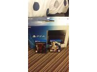 Ps4 good as new for £ 170 with 2 games