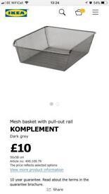 Ikea pax mesh baskets