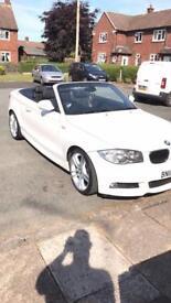 BMW 118d convertible m sport 2l