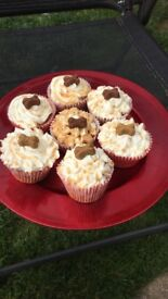 Homemade Pupcakes for your pup's birthday