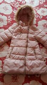 Girls next pink coat