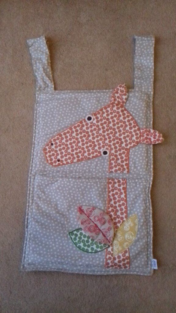 Toy/Pajama holder - Mamas and Papas, lovely Giraffe design, never used.
