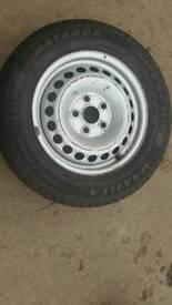 Vw transporter wheel +tyre