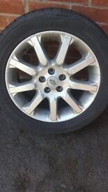 Freelander 1 alloy wheels with tyres