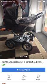 Pram/car seat