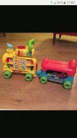 Vtech push along train