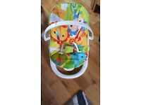 fisher price rain forest friends fun and fold bouncer