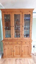 3 Door solid pine dresser