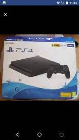 NEW PS4 500GB BOXED Games
