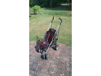 Zen stroller / buggy - good condition, with hood and footmuff
