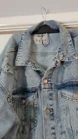 Denim jacket size 20
