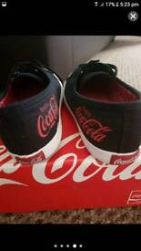 Limited edition coca cola trainers