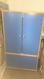 blue boys wardrobe