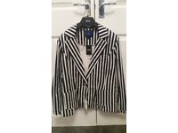 BNWT ladies navy & white stripe jacket from Next