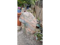 900mm polished sunset marble effect water feature