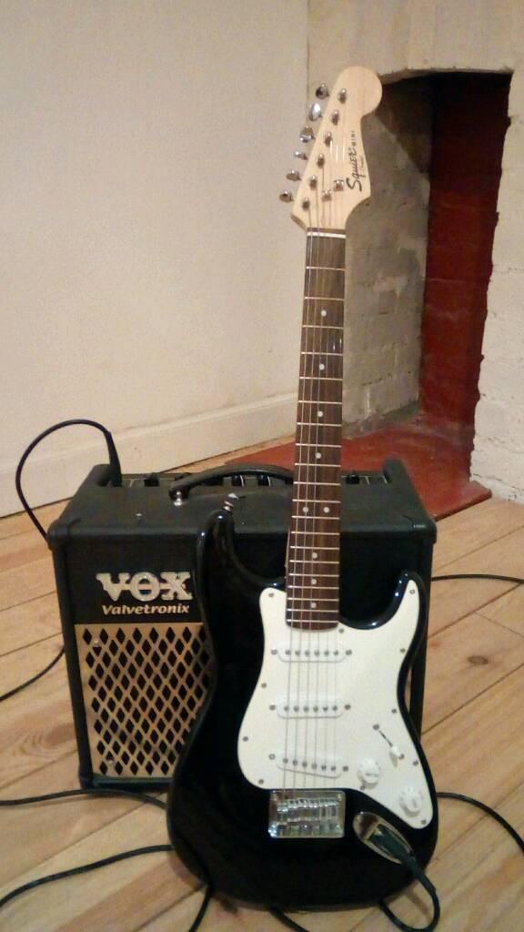 34 Size Electric Guitar Fender Stratocaster Juniorchildrenkids In