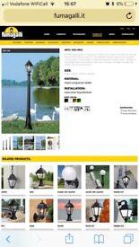 Fumagelli Ricu & Tobia street lantern