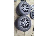 5x108 alloy wheels, good tyres!!