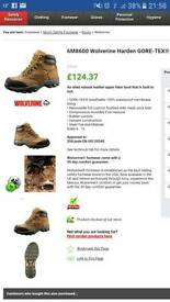 Wolverine working/Hiking boots. Top Quality. Size 10