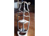 19th Century Cast Iron Saddle Rack
