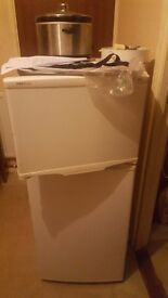 small fridge freezer in brilliant condision