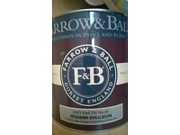 farrow and Ball red earth paint