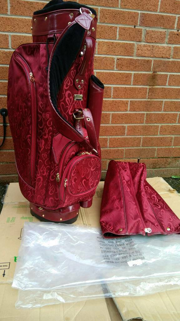 Moda golf bag new never used its unisex and its beautiful colour!with  hood!Can deliver or post a60930813bf06