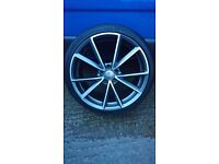 """19"""" alloys in excellent condition 5x112, seat vw audio Mercedes"""
