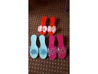 3 pairs of girls play shoes brand new