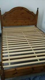 Double bed frame base