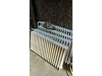 Cast iron original church radiators