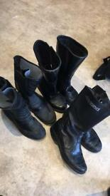 *SSTC*Bike boots size 8 and 6 from £15 pair look in description.