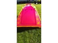 Kids play tents X2 - Minnie Mouse and Spiderman