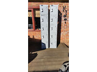 Probe Steel Lockers 5 Door with combination lock