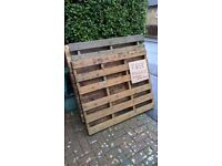FREE PALLET WOOD for garden projects/ firewood