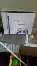 I have a ps 2 for sale still in the box only been used a hand full of times only have 1 game