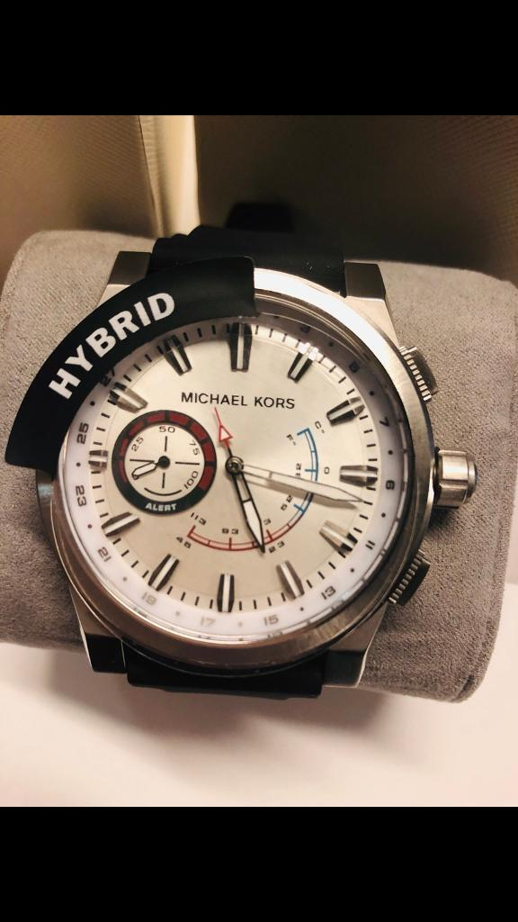 8277f7f9f85d Michael Kors Men s Smart Watch MKT4009