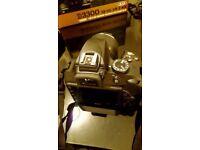 Nikon D3300 Kit with 18-55mm VR II Lens Digital SLR Camera - Black
