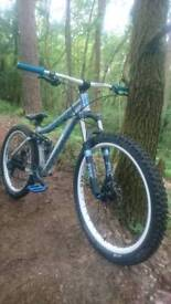 Mongoose salvo sport slopestyle custom build loads of upgrades