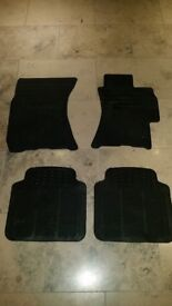 Subaru Legacy and Outback rubber floor mats
