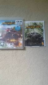 PlayStation game motor storm Pacific rift