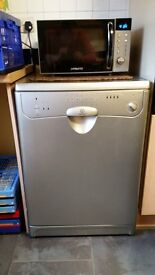 INDESIT SILVER DISHWASHER REF D167