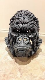 Edge Sculpture - Gorilla Bust - Brand New
