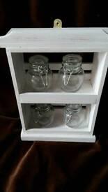 White spice/herb rack