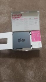 2xrouter Sky never used & talktalk