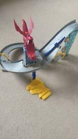 FREE!! Hot Wheels Dragon Blast Full Set (kids toys cars)