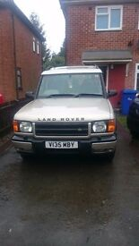 Discovery td5 auto 7seater